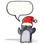 Cartoon penguin — Vecteur