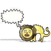 Leão dos desenhos animados — Vetorial Stock