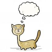 мультфильм cat — Cтоковый вектор