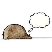 Fat cartoon bear — Διανυσματικό Αρχείο