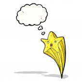 射击之星卡通 — 图库矢量图片