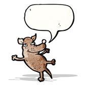 Kleiner Hund Cartoon — Stockvektor
