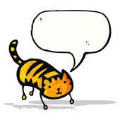 Chat de dessin animé mignon — Vecteur