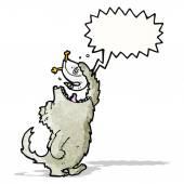 大きな悪いオオカミ漫画 — ストックベクタ