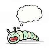 мультфильм гусеница — Cтоковый вектор
