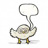 Cartoon owl — Cтоковый вектор