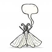 Papillon dessin animé — Vecteur