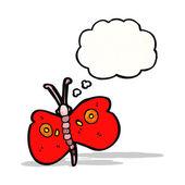 卡通蝴蝶 — 图库矢量图片