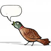 Cartoon pheasant — Stock Vector