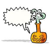 Halloween potion cartoon — Stock Vector