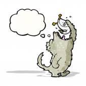 Loup de dessin animé — Vecteur