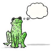 cartoon frog — Vetorial Stock