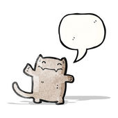 Cartoon happy cat — Stock Vector
