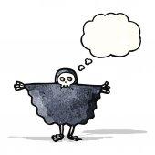 Cartoon halloween ghoul — Stock Vector