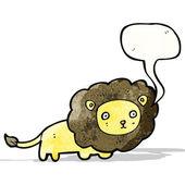 Cartoon leeuw — Stockvector