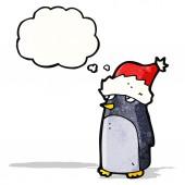 Cartoon-pinguin — Stockvektor