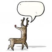 Cartoon rendieren — Stockvector