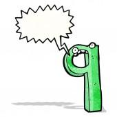 Cartoon nummer 9 — Stockvector