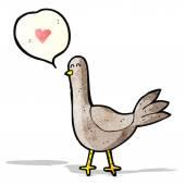 卡通鸽子 — 图库矢量图片