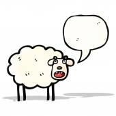 Cartoon schapen — Stockvector