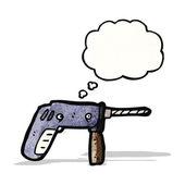 Karikatür matkap — Stok Vektör