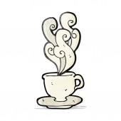 Cartoon kaffee tasse — Stockvektor