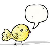 Uccello divertenti cartoon — Vettoriale Stock