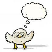 Cartoon owl — Stockvektor