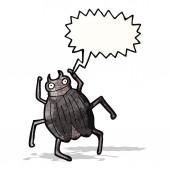 Cartoon gigantische bug — Stockvector