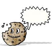 Parlando dei cartoni biscotto — Vettoriale Stock