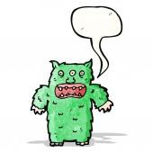 Tecknade monster — Stockvektor