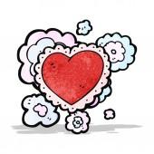 Decorative heart symbol — Stock Vector