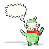 Cartoon elf — Stockvector