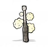 Cartoon screwdriver — Stock Vector