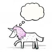 Cartoon unicorn — Stockvektor