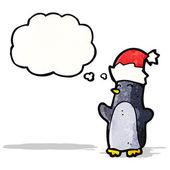 Pinguino cartoon — Vettoriale Stock