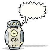 Robot dei cartoni animati — Vettoriale Stock