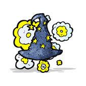 Kreator kapelusz kreskówka — Wektor stockowy