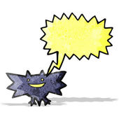 Cartoon halloween fledermaus — Stockvektor