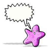 Cartone animato starfish — Vettoriale Stock