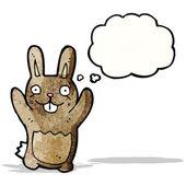 Coniglio dei cartoni animati — Vettoriale Stock