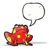 Cartoon poison frog — Vettoriale Stock