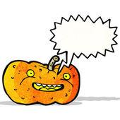 мультфильм хэллоуин тыква — Cтоковый вектор