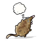 мультфильм жира крыса — Cтоковый вектор