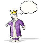 Rey de la historieta — Vector de stock