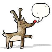 Cartone animato renne — Vettoriale Stock