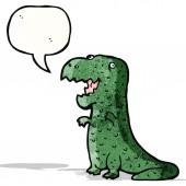Cartoon dinosaurie — Stockvektor