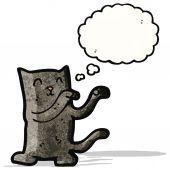 Cartoon dancing cat — Stock Vector