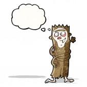 Mono de dibujos animados — Vector de stock