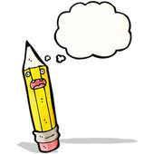 Lápiz de dibujo animado — Vector de stock